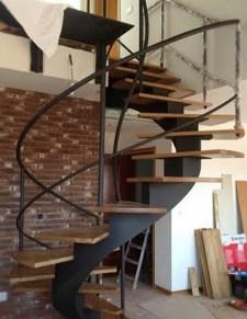 Stairs installation